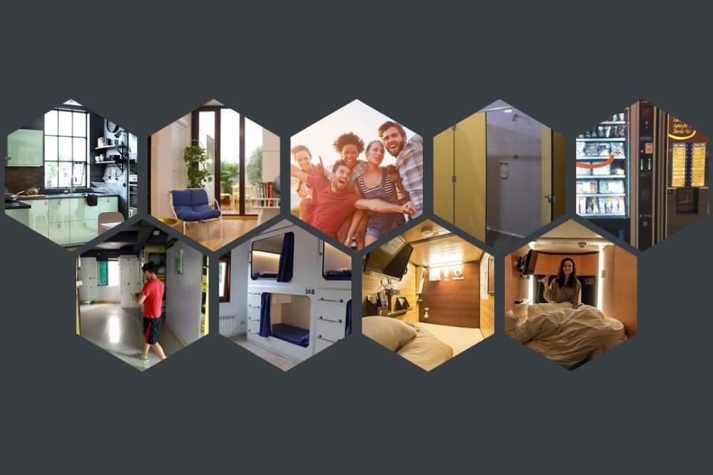 Llegan a Barcelona los pisos 'colmena': zulos de tres metros cuadrados con cocina y baño compartidos
