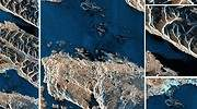 Impactantes: comparten las primeras imágenes del satélite argentino Saocom 1B
