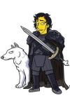 10 personajes de Juego de Tronos en versión Simpson