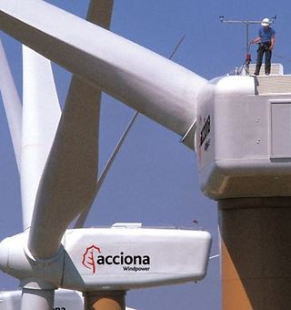 Acciona y Nordex crean un líder mundial de la industria eólica
