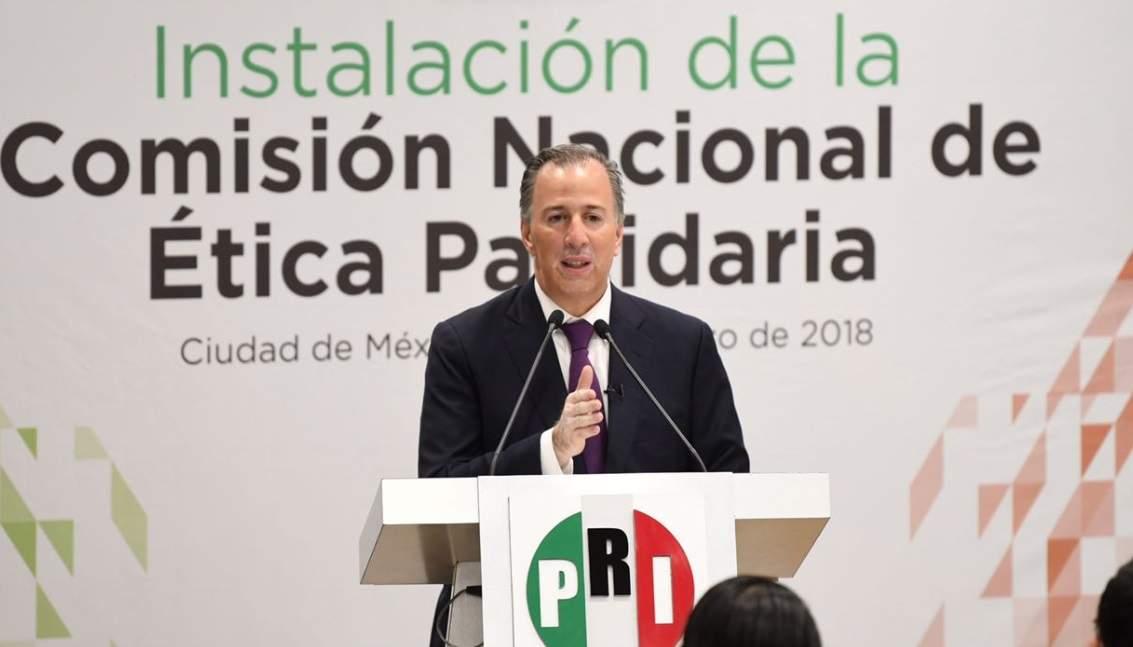 Presenta Meade comisión de ética en el PRI