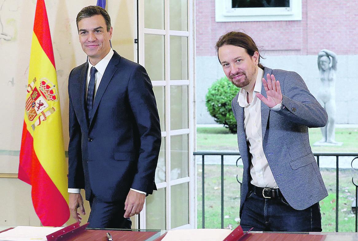 PSOE y Podemos se reservan poder subir aún más los gastos e ingresos