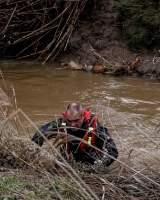 Localizan el cadáver del guardia civil desaparecido en Guillena el sábado en labores de rescate