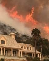 Muere un bombero durante las labores de extinción del fuerte incendio forestal en California