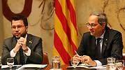 Pere Aragons y Quim Torra
