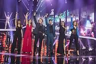 Los cinco finalistas interpretan 'Mi gran noche' con Raphael - 195x130