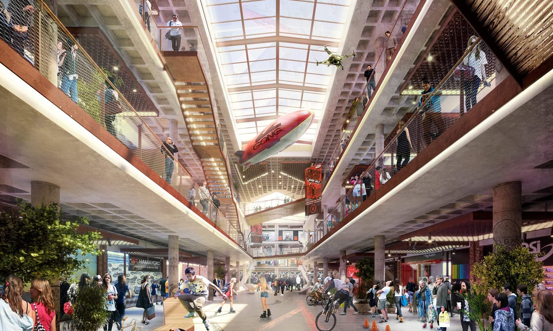 'Madrid X', un centro comercial disruptivo para combatir la crisis del retail