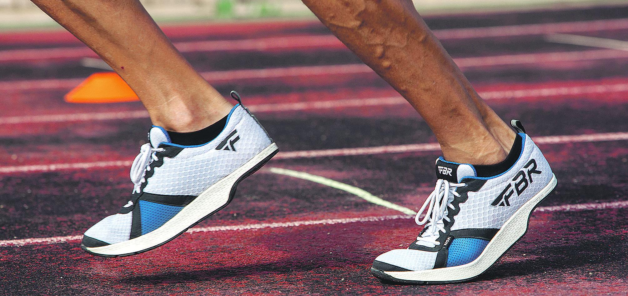 2cf1aa85 Zapatillas sin talón, creación española para batir el récord de la maratón