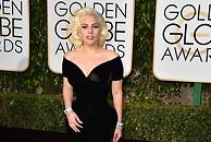 Lady Gaga, en los Globos de Oro - 195x130
