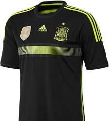 Las siete camisetas más polémicas de la selección española ... a4ed7933f79