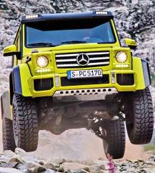 Mercedes-Benz G 4x4²: la bestia todoterreno