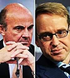 Las piezas que faltan en el puzzle del BCE: el alemán Weidmann apunta al puesto de Draghi