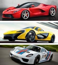 Ferrari laferrari vs mclaren p1