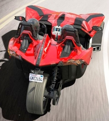 Polaris Slingshot: un deportivo de tres ruedas por 30.000 euros