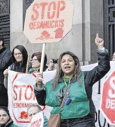Quejas en el Parlamento Europeo: la UE exige a España frenar desahucios
