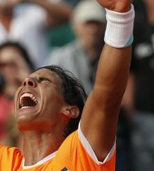 Nadal gana  a Ferrer y se cita con Djokovic