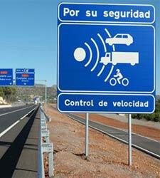 Los diez radares que más multan en Españadiez