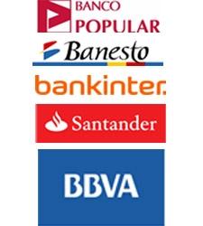 Golpe a los bancos: pierden más de la mitad de su valor