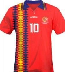 51720eb2c164e La camiseta del Mundial de Estados Unidos en 1994 es la indumentaria en la  que está basada la actual camiseta  republicana . Y en su día también  levantó ...