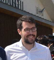 """[Huesca Suena] Manifestación """"Finalización A-22 YA!"""" Albert_Batalla"""