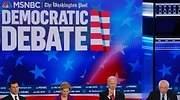 Los demócratas llaman a la unidad de EEUU en un debate en el que se aupó la segunda división de candidatos