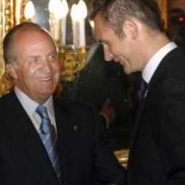 Juan Carlos viaja a Ginebra para celebrar el 50 cumpleaños de Urdangarin