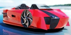 Supercraft: el Bugatti Veyron anfibio que va por mar y tierra - 300x150