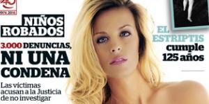 Sandra Ferrari se desnuda en la portada de Interviú