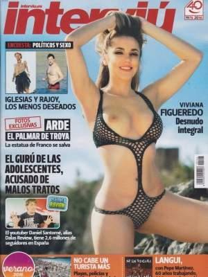 Viviana Figueredo Supervivientes 2014 Desnuda En La Portada De