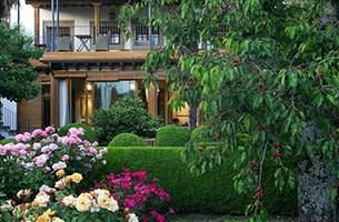 El Jardín del Convento, verano en Hervás