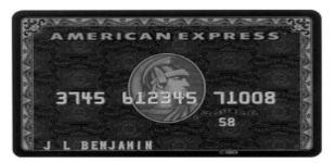 Tarjetas de crédito para ricos