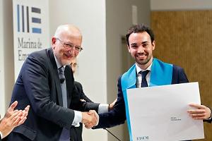 Juan Roig, padrino de la promoción del Grado en ADE Emprendedores de la escuela EDEM