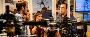 Todo listo para que los drones tomen Zaragoza en Expodrónica