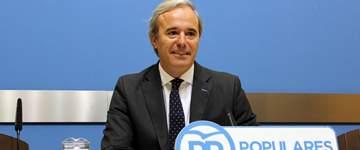 El PP irá a los tribunales si alcalde de Zaragoza no revoca autorización del acto sobre el referéndum