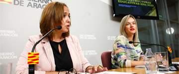 Aragón destinará 153 millones al Plan de Infraestructuras Educativas