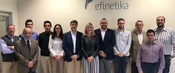 Efinétika se prepara para dar el salto internacional con tecnologías 4.0 de eficiencia energética