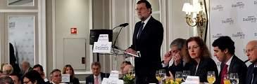 Rajoy defiende el régimen foral y el Cupo y se pregunta: ¿No tenemos suficientes líos para organizar uno más?