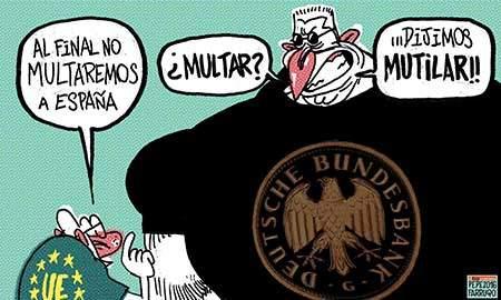 El FMI vuelve a pedir rebaja de salarios en España 2016080-9