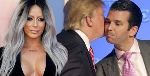 El hijo de Donald Trump, infiel a su mujer con una exuberante concursante del reality de su padre