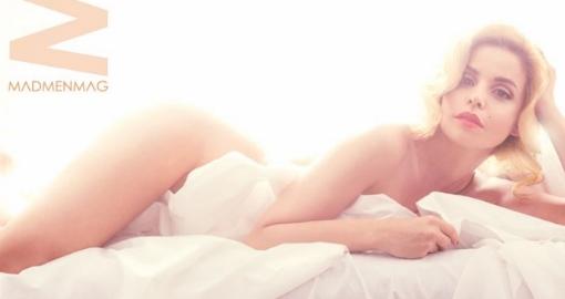 Marta Torné homenajea con un desnudo a Marilyn Monroe