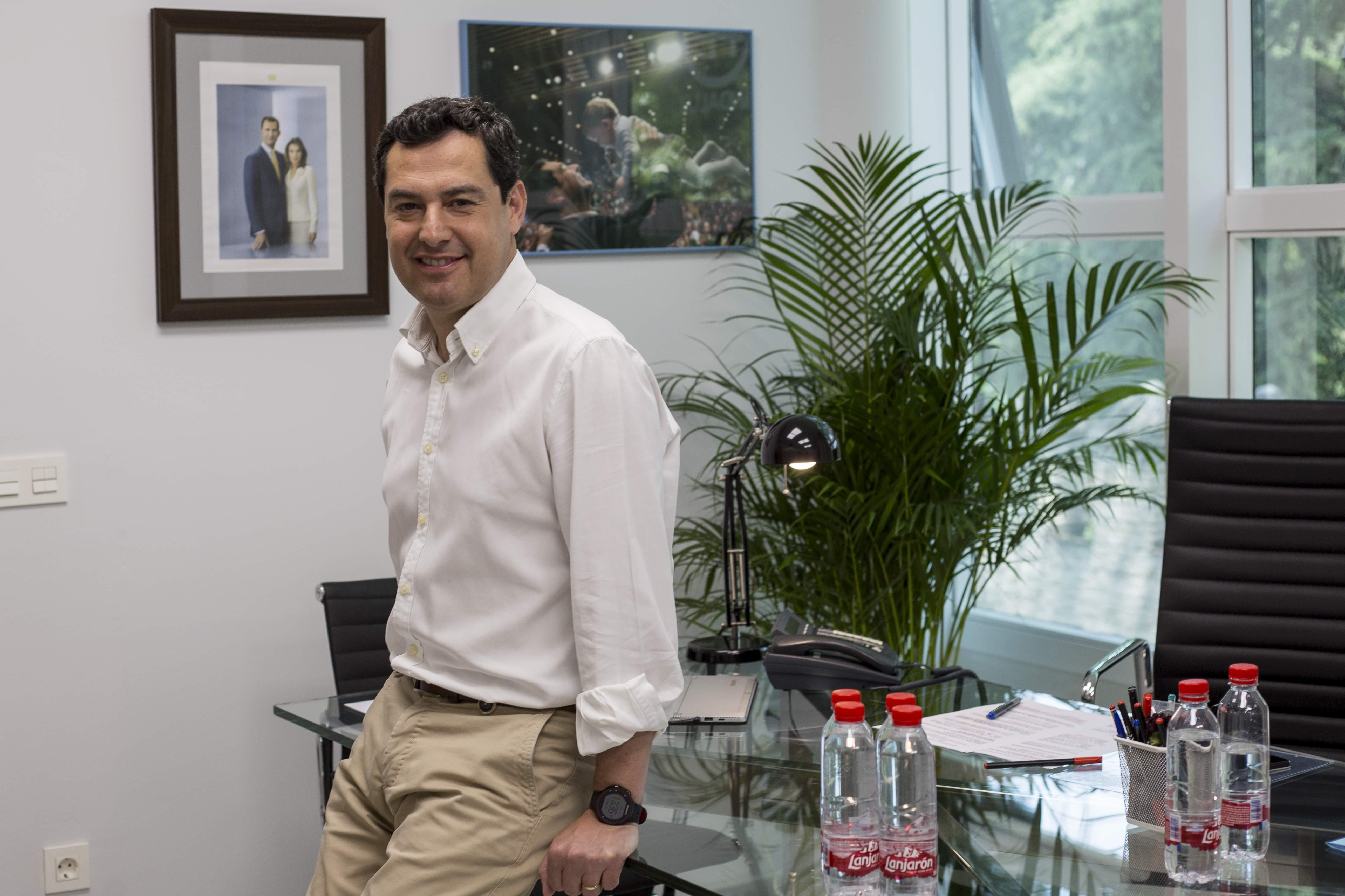 """Moreno Bonilla: """"Ofrezco una revolución fiscal para que Andalucía iguale el nivel de Madrid"""""""