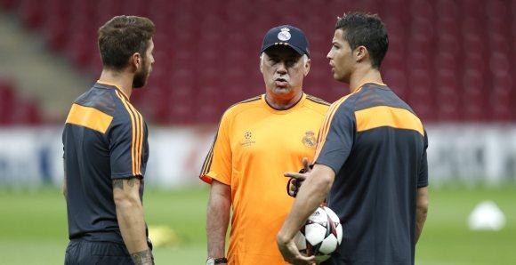 promo code 1ed42 05cd6 Ancelotti presiona a favor de Cristiano Ronaldo