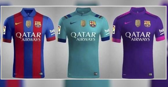 06ef3924d8850 Filtran la camiseta del Barça para la 16-17  vuelta a los años 90 y sin  señera