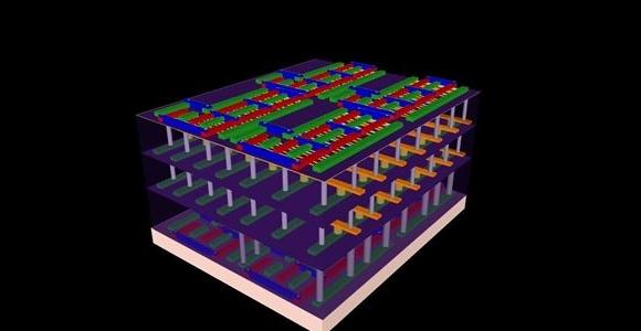 El chip \'rascacielos\' que supone la cuarta dimensión para la ...