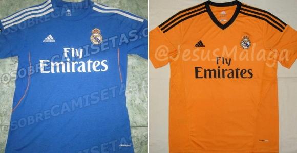 Las camisetas del Real Madrid para el próximo año  blanca... ¿azul y  naranja  6f0dc53a60182