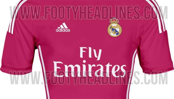 La equipación rosa del Real Madrid incendia Internet y provoca una petición  en Change d5bc182dfe885