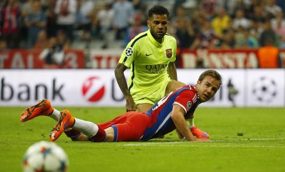 Incedio en el vestuario del Bayern de Múnich -