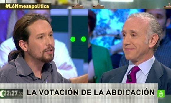 Machismo, Otegi, Irán y Venezuela: así fue el 'pique' de Eduardo Inda y Pablo Iglesias en 'La Sexta Noche'