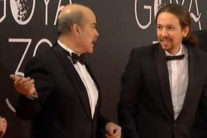Pablo Iglesias lució de esmoquin