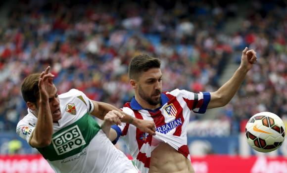 El Atlético, todo para la segunda parte -